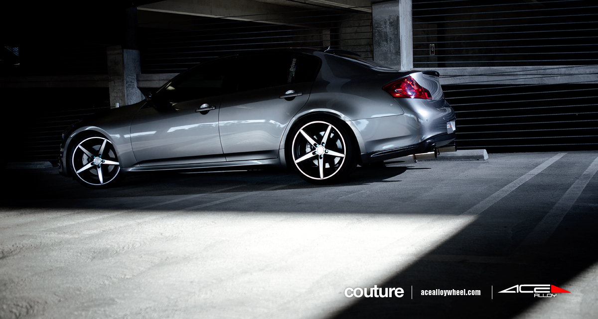 Ace 20 couture wheels w infiniti g37 sedan