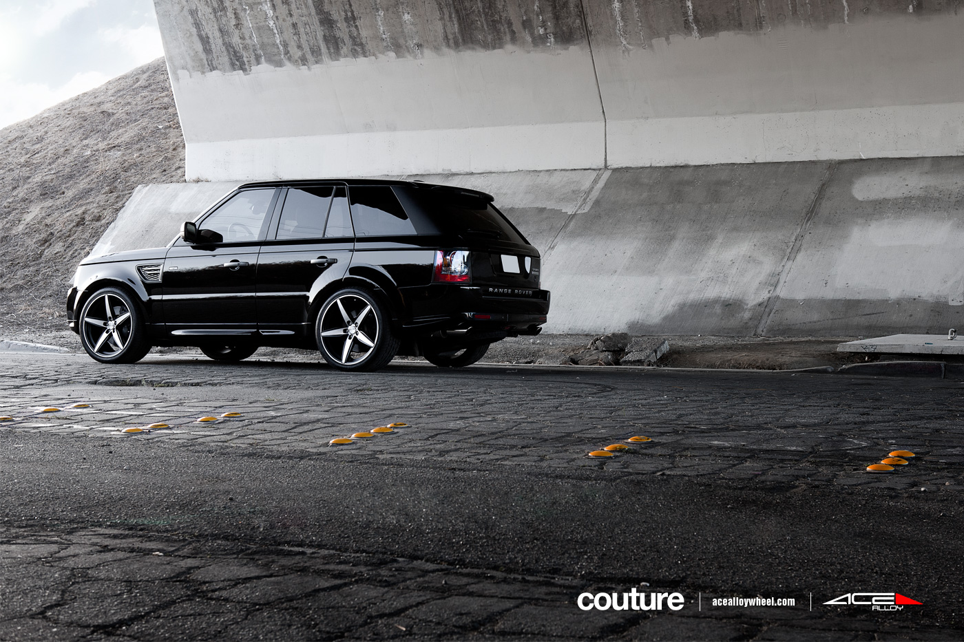 """Ace 22"""" Couture Wheels w/ Range Rover Sport Supercharged"""